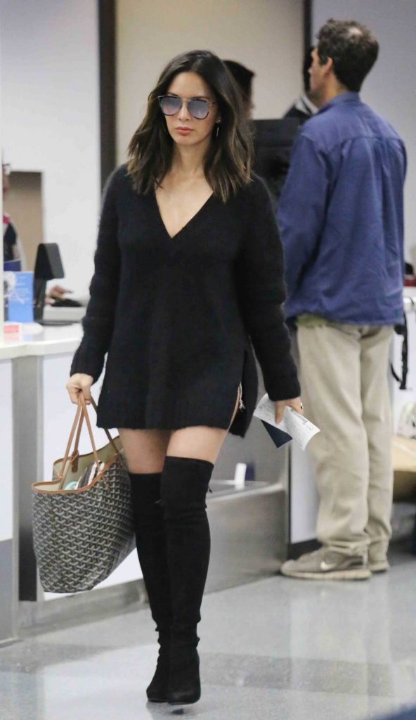Olivia Munn Was Spotted at LAX Airport in LA-1