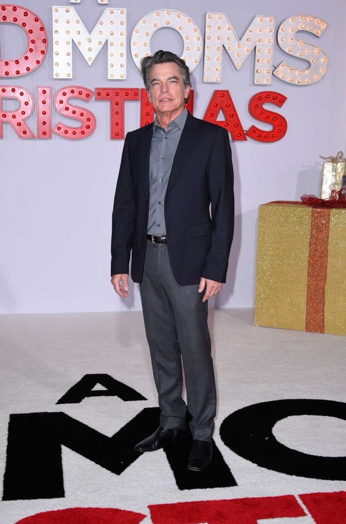 Peter Gallagher at A Bad Mom's Christmas Premiere at the Regency Village Theatre in Westwood-1