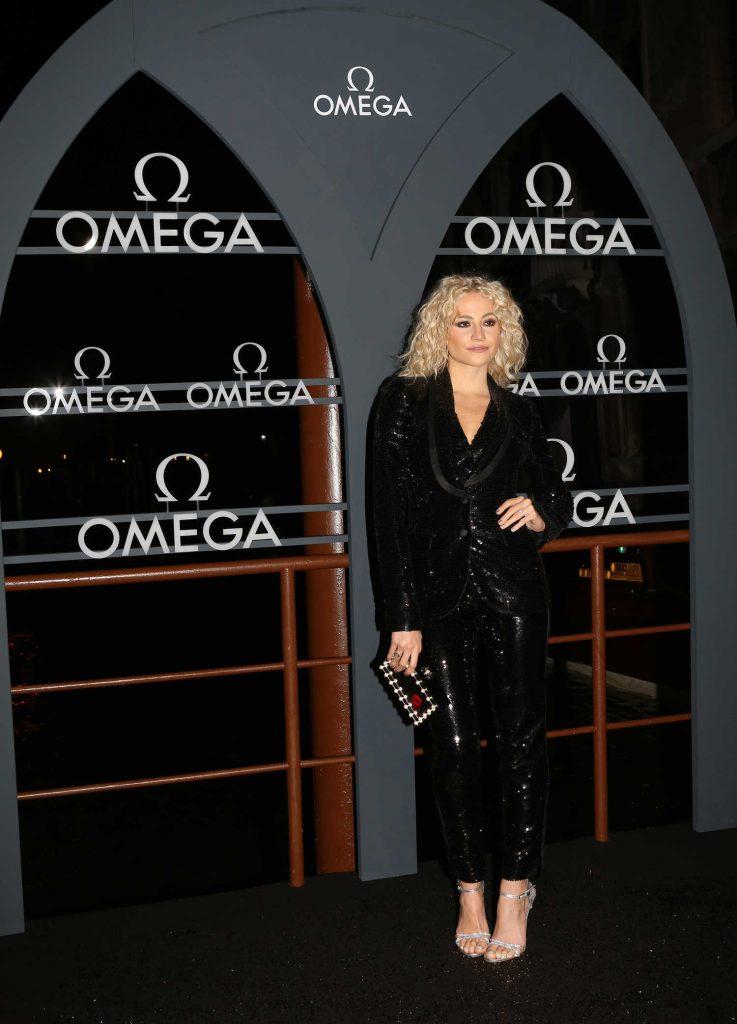 Pixie Lott at OMEGA Aqua Terra Event at Palazzo Pisani Moretta in Venice-4