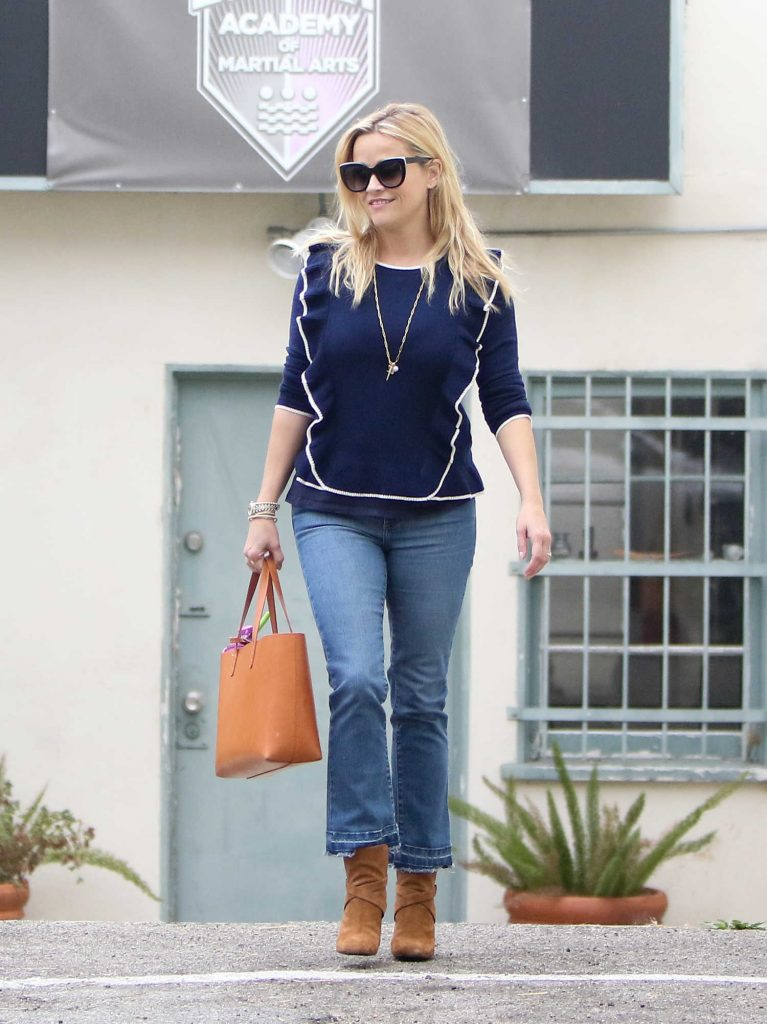 Reese Witherspoon Enjoys the Day With Her Family Out in Brentwood-4