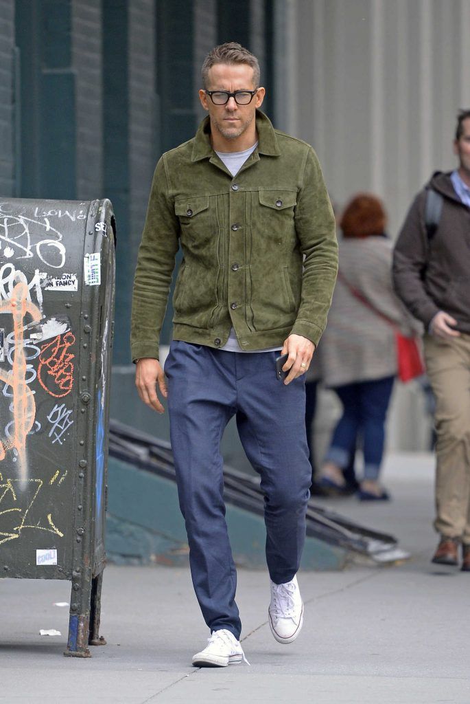 Ryan Reynolds Was Seen Out in NYC-1