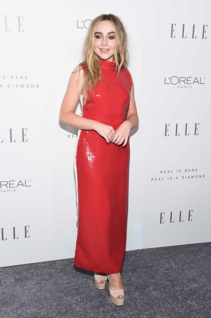 Sabrina Carpenter at ELLE's 24th Annual Women in Hollywood Celebration in Los Angeles-1