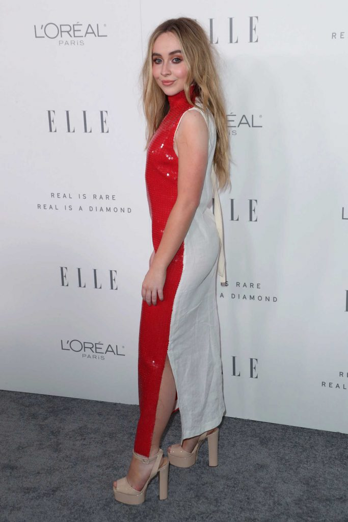 Sabrina Carpenter at ELLE's 24th Annual Women in Hollywood Celebration in Los Angeles-4