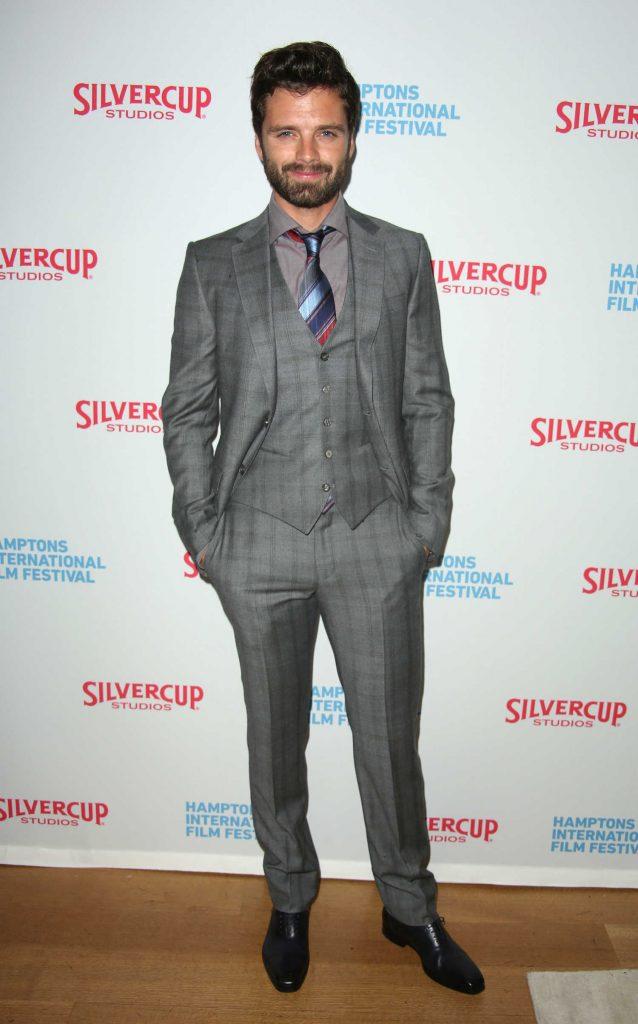 Sebastian Stan at I, Tonya Premiere During Hamptons International Film Festival-1