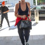 Sharon Stone Was Seen at LAX Airport in Los Angeles