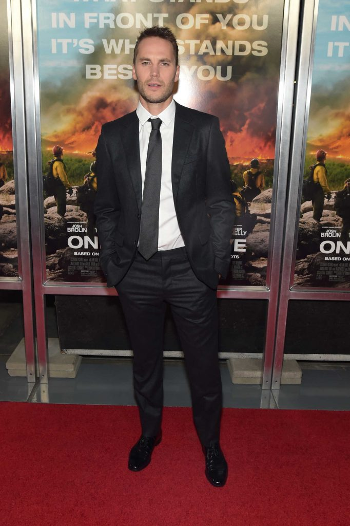 Taylor Kitsch at Only The Brave Screening in New York City-1