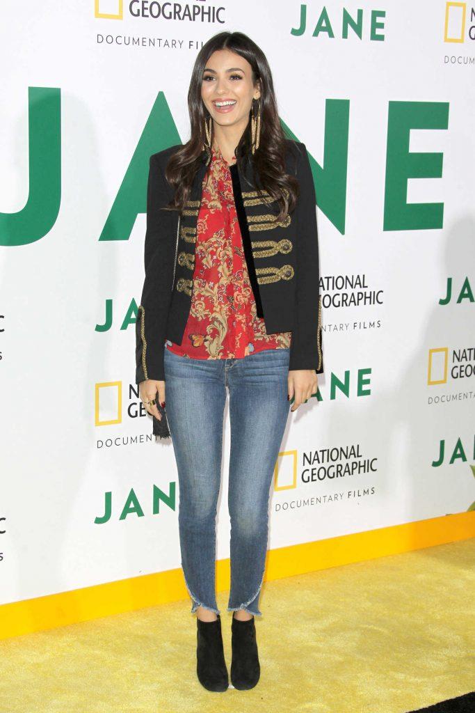 Victoria Justice at Jane Premiere in Los Angeles-1