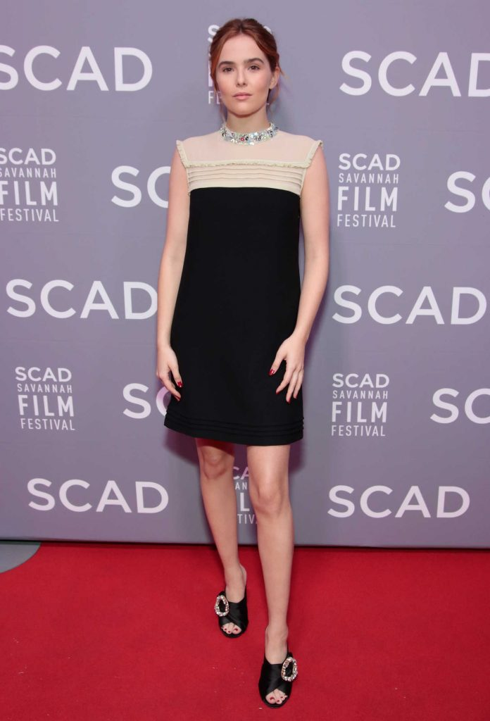 Zoey Deutch at the 20th Anniversary SCAD Savannah Film Festival in Savannah-1