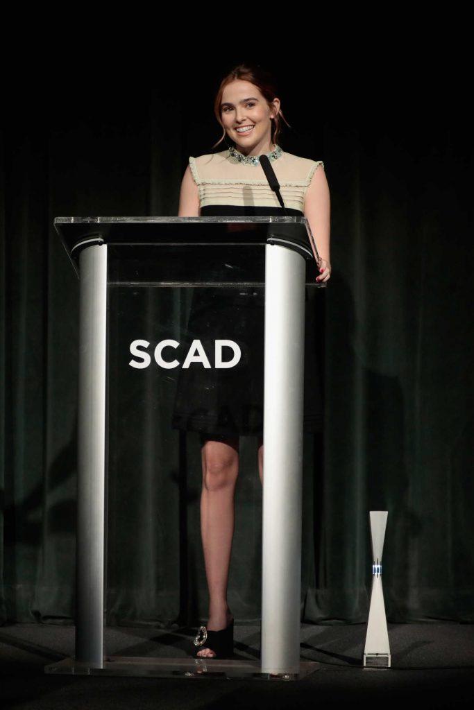 Zoey Deutch at the 20th Anniversary SCAD Savannah Film Festival in Savannah-4
