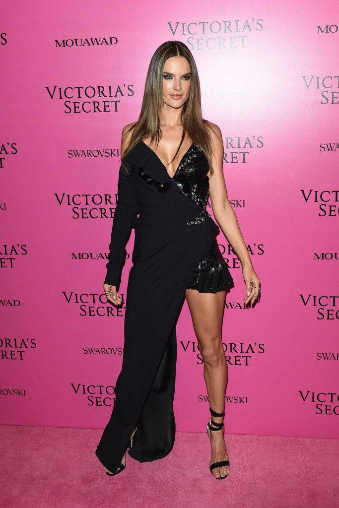 Alessandra Ambrosio at 2017 Victoria's Secret Fashion Show After Party in Shanghai-1