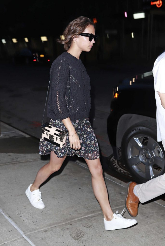 Alicia Vikander Was Seen Out in New York City-3