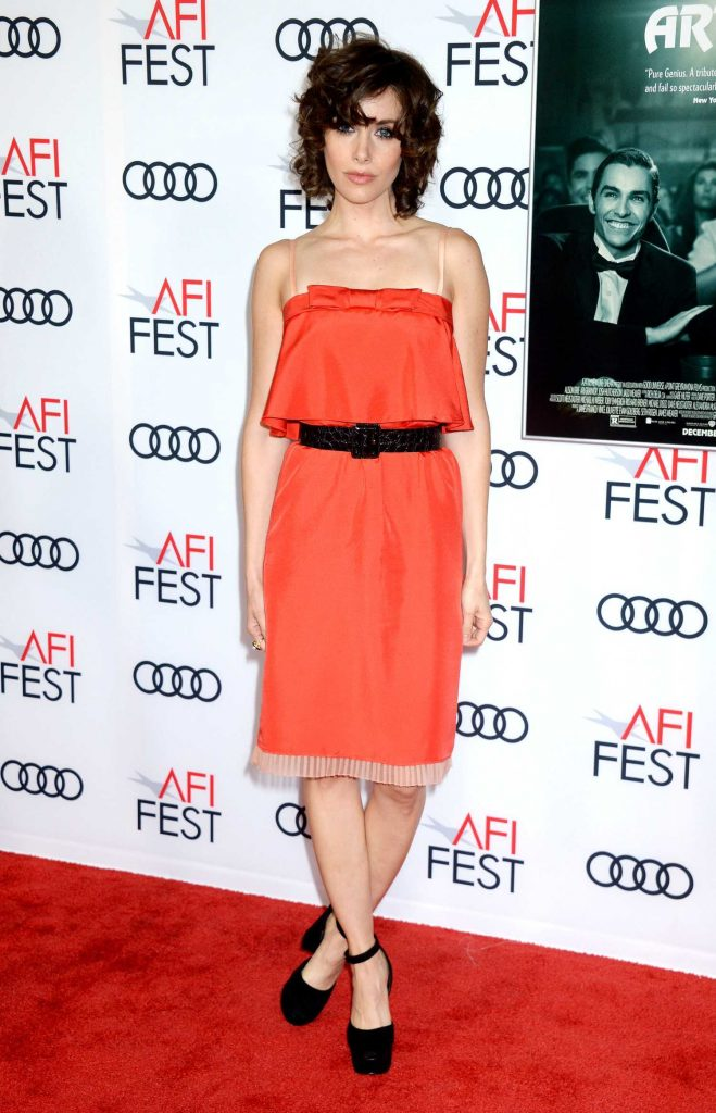 Alison Brie at The Disaster Artist Screening During AFI Festival in Los Angeles-1
