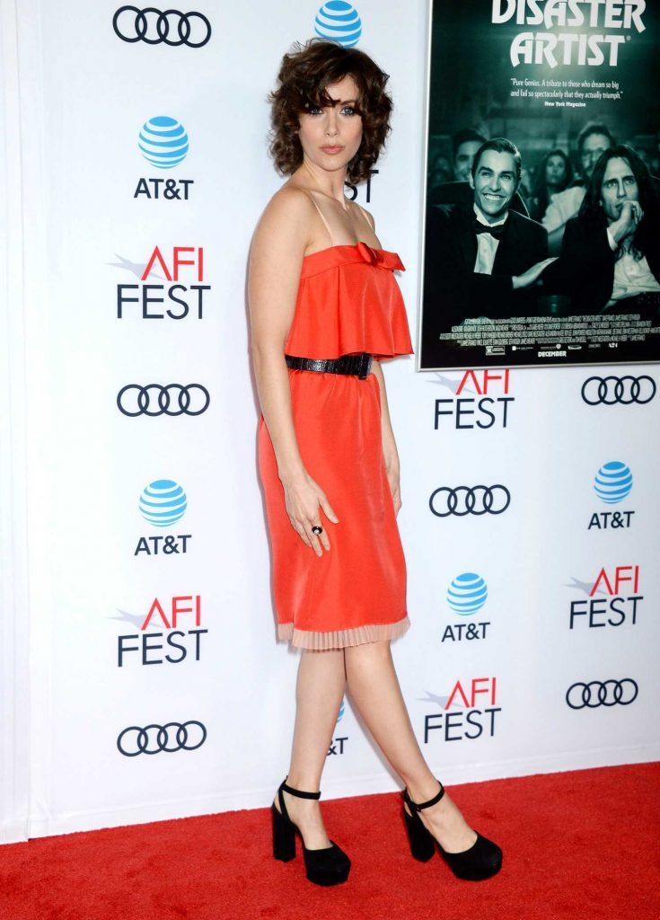 Alison Brie at The Disaster Artist Screening During AFI Festival in Los Angeles-2