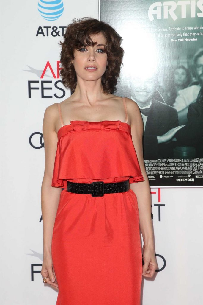 Alison Brie at The Disaster Artist Screening During AFI Festival in Los Angeles-4