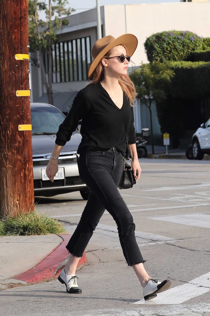 Amber Heard Leaves Cafe Gratitude in West Hollywood-1