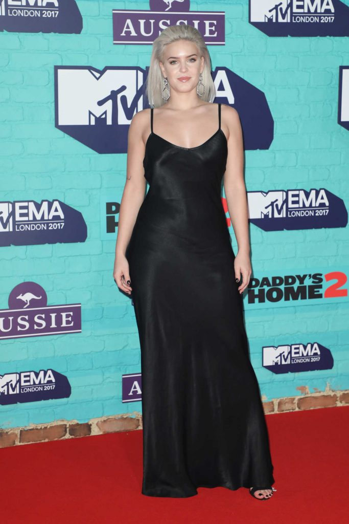 Anne-Marie at the 24th MTV Europe Music Awards in London-1