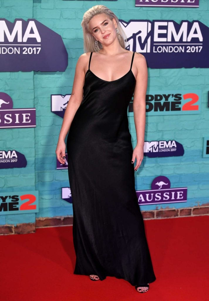 Anne-Marie at the 24th MTV Europe Music Awards in London-2