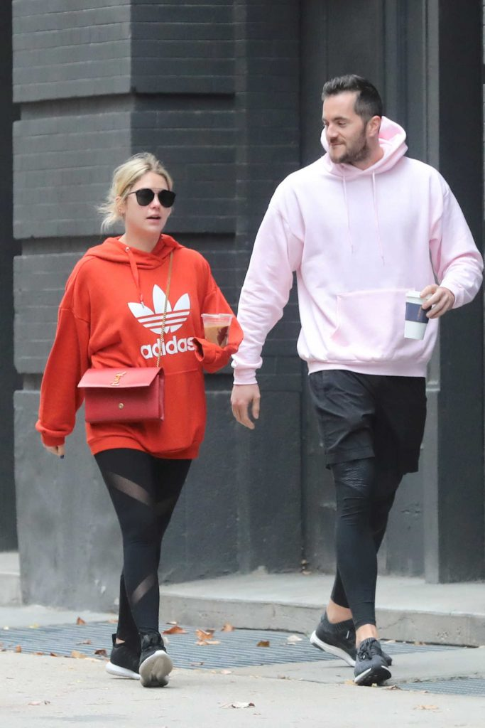Ashley Benson Was Seen With Her Personal Trainer Out in NYC-1