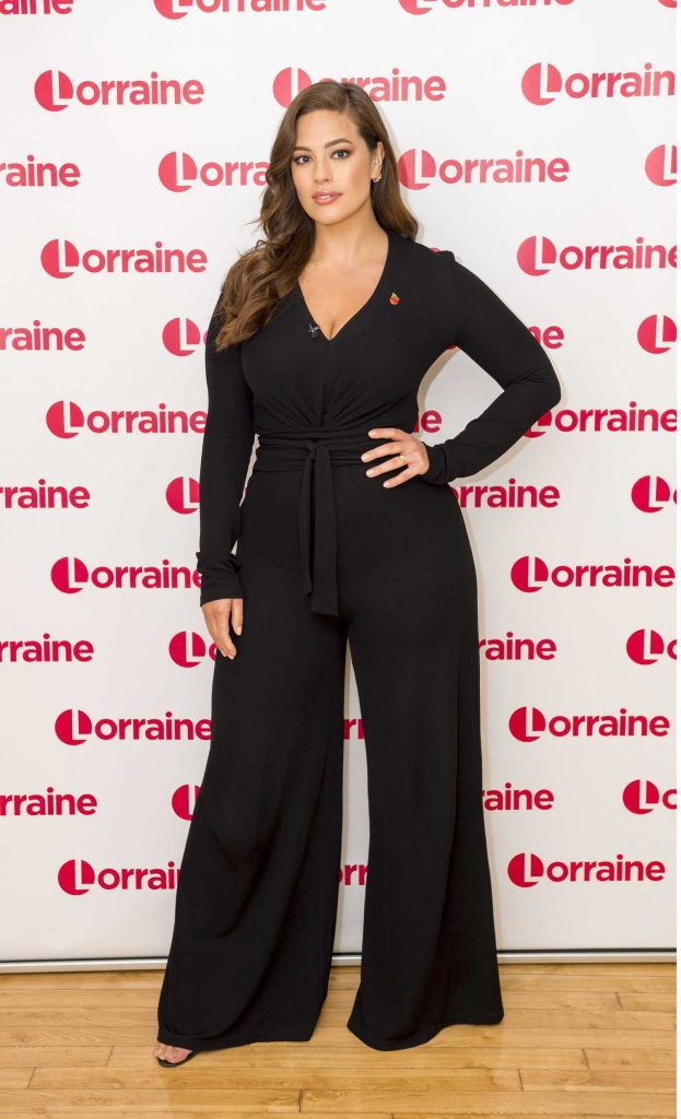 Ashley Graham at the Lorraine TV Show in London-1