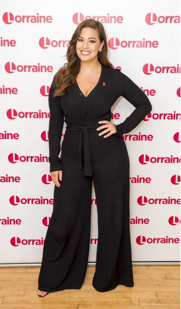 Ashley Graham at the Lorraine TV Show in London-2