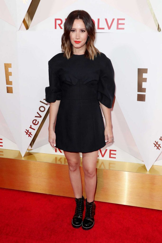 Ashley Tisdale at the REVOLVE Awards in Los Angeles-1