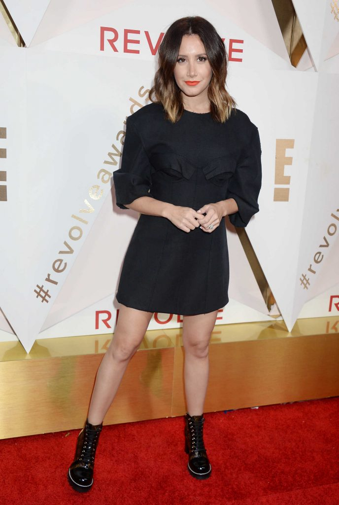 Ashley Tisdale at the REVOLVE Awards in Los Angeles-2