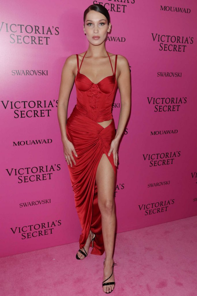Bella Hadid at 2017 Victoria's Secret Fashion Show After Party in Shanghai-1