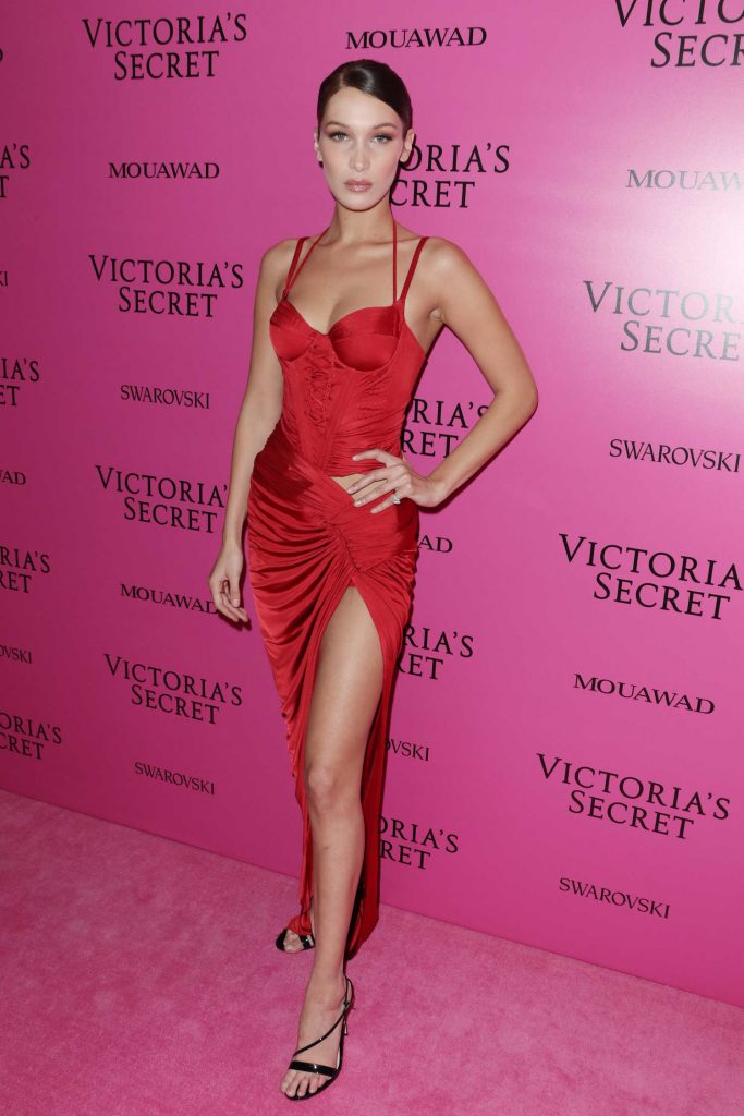 Bella Hadid at 2017 Victoria's Secret Fashion Show After Party in Shanghai-2