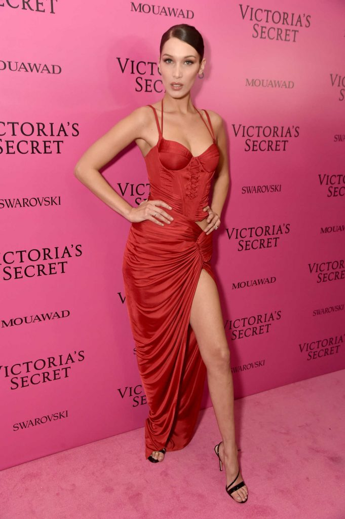Bella Hadid at 2017 Victoria's Secret Fashion Show After Party in Shanghai-3