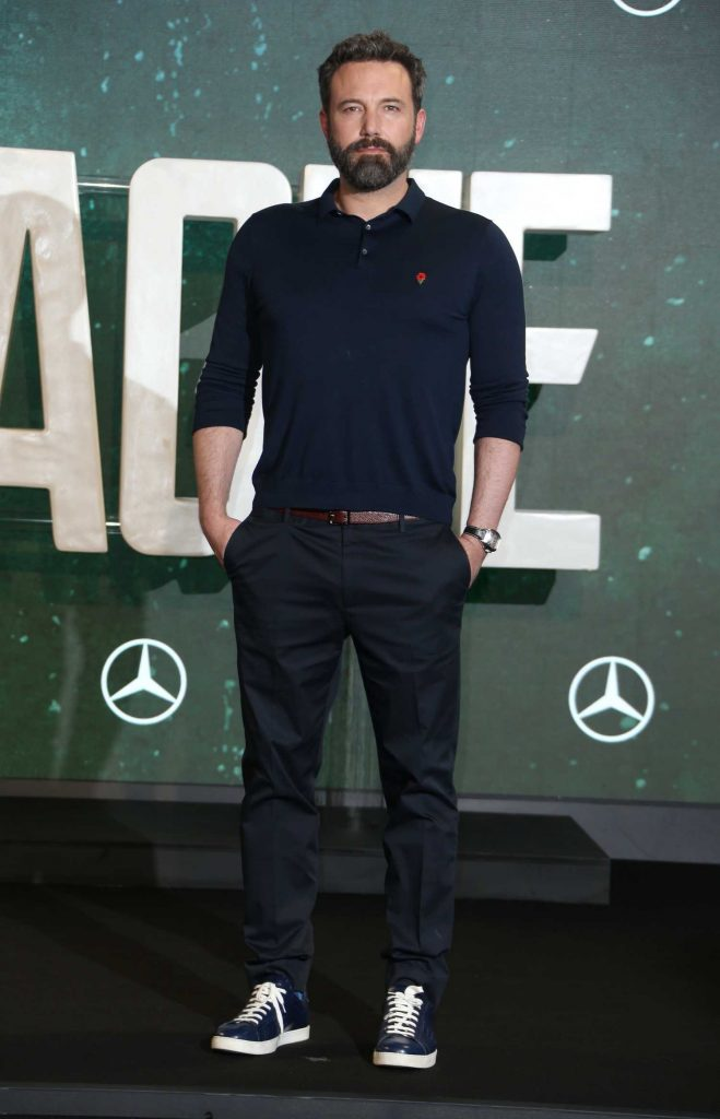 Ben Affleck at Justice League Photocall in London-1
