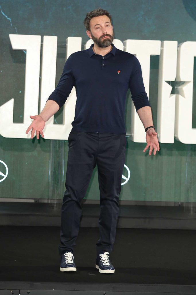 Ben Affleck at Justice League Photocall in London-2