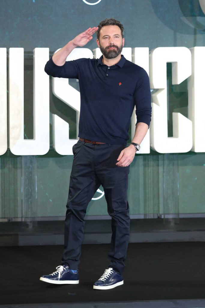 Ben Affleck at Justice League Photocall in London-3