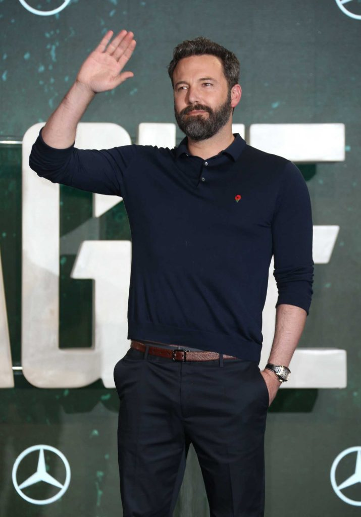 Ben Affleck at Justice League Photocall in London-4