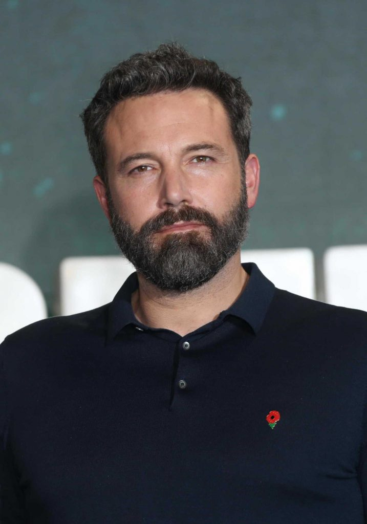 Ben Affleck at Justice League Photocall in London-5