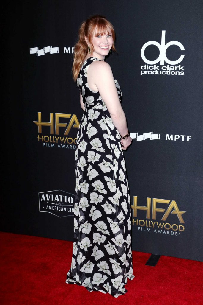 Bryce Dallas Howard at the 21st Annual Hollywood Film Awards in Los Angeles-3