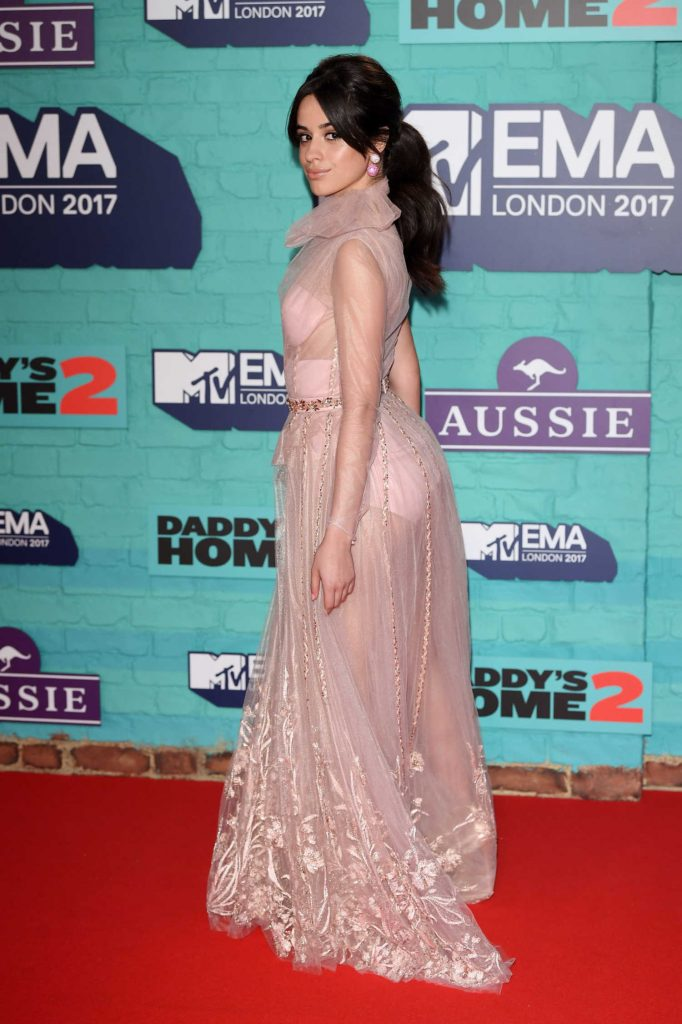Camila Cabello at the 24th MTV Europe Music Awards in London-5