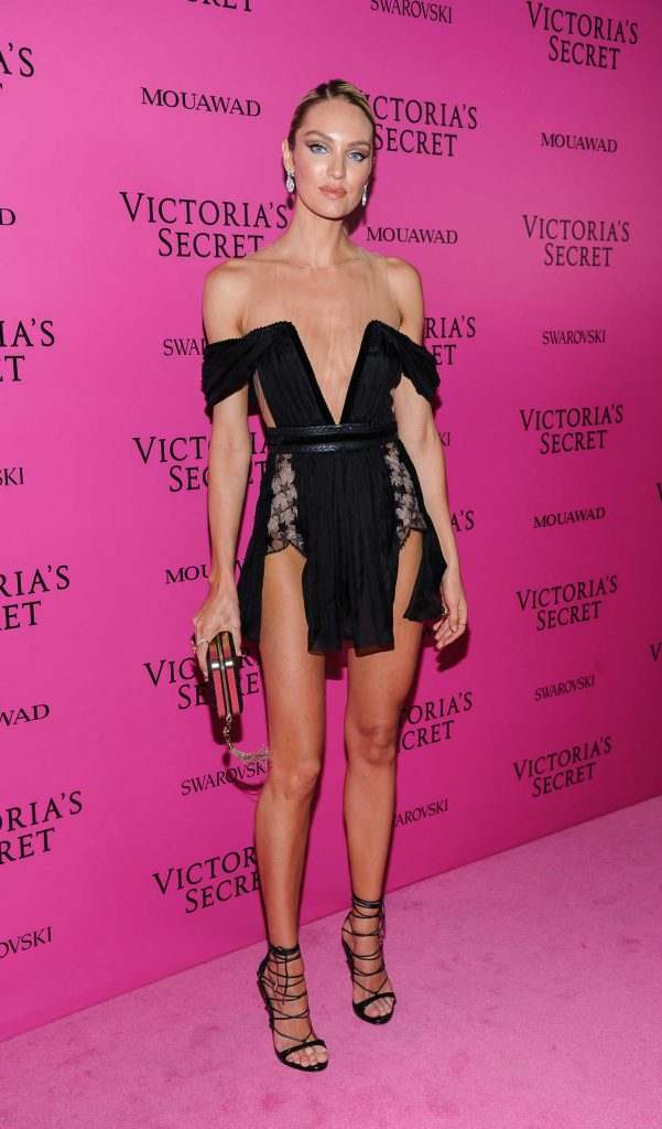 Candice Swanepoel at 2017 Victoria's Secret Fashion Show After Party in Shanghai-1