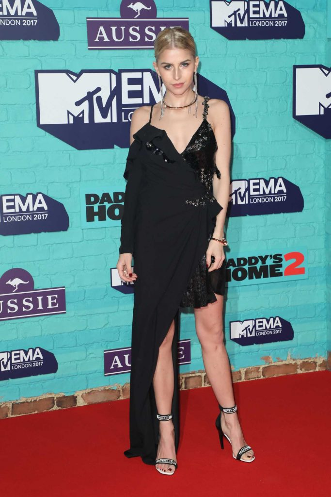 Caroline Daur at the 24th MTV Europe Music Awards in London-2