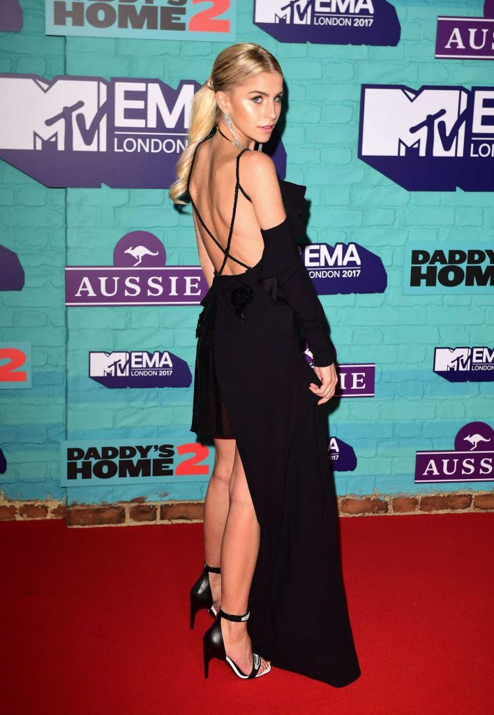 Caroline Daur at the 24th MTV Europe Music Awards in London-3