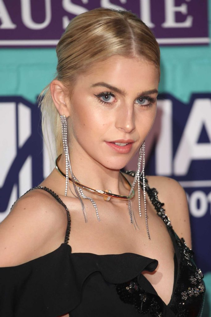 Caroline Daur at the 24th MTV Europe Music Awards in London-5