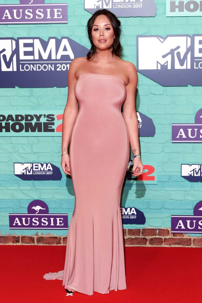 Charlotte Crosby at the 24th MTV Europe Music Awards in London-1