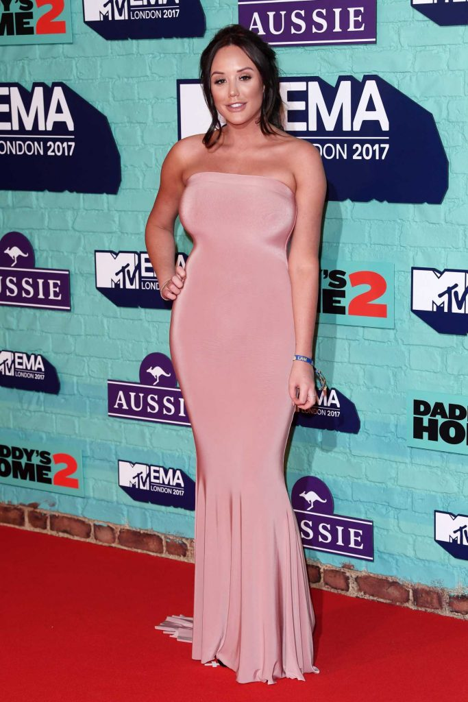 Charlotte Crosby at the 24th MTV Europe Music Awards in London-2