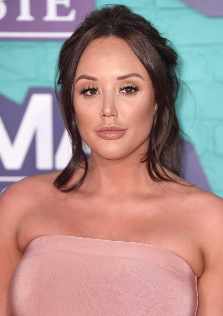 Charlotte Crosby at the 24th MTV Europe Music Awards in London-5
