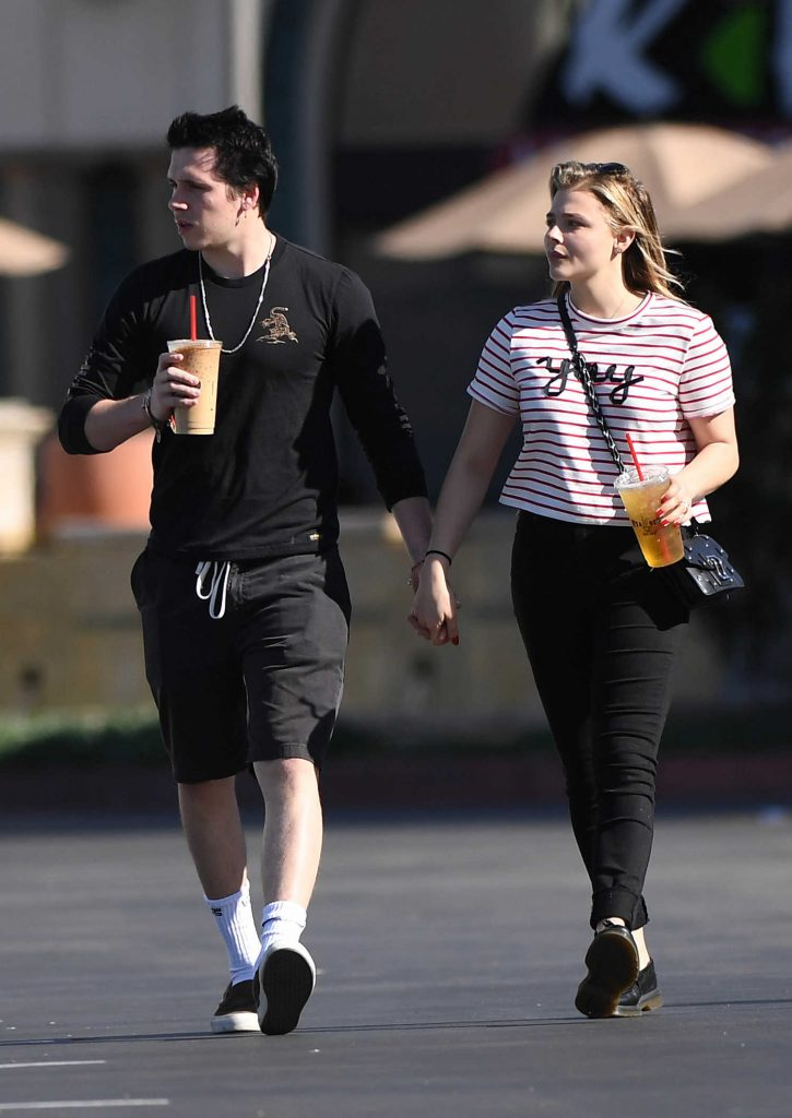 Chloe Moretz Was Seen With Brooklyn Beckham in Southern California-3