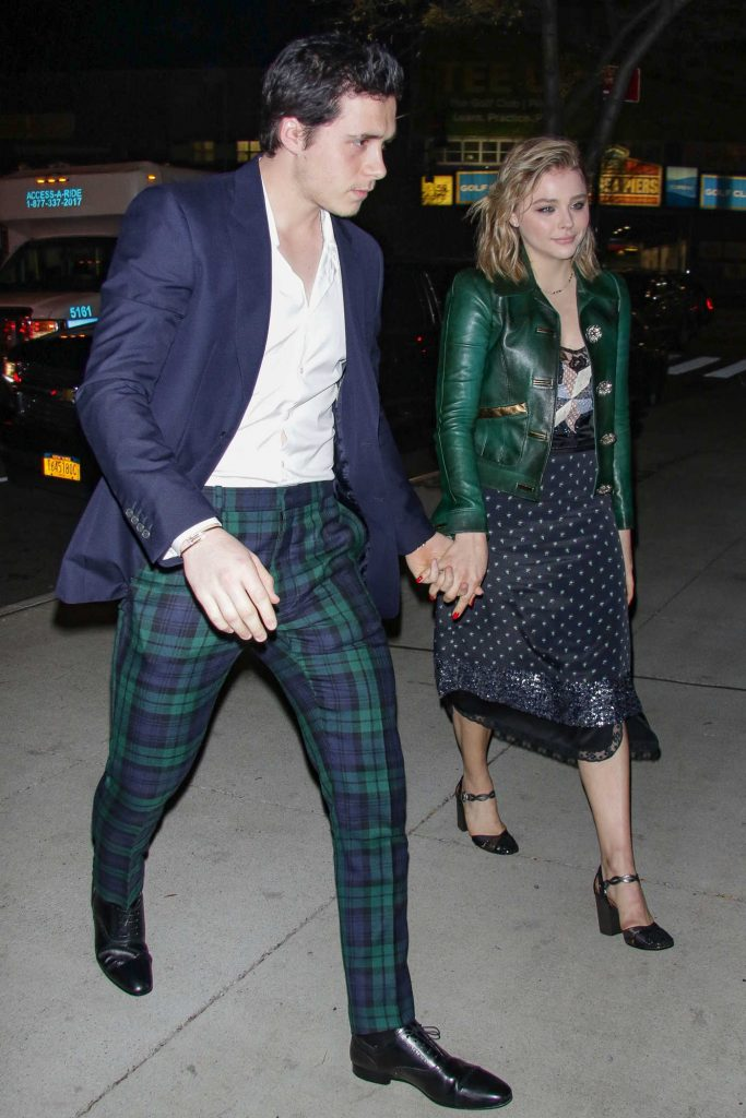 Chloe Moretz Was Seen With Brooklyn Beckham Out in NYC-2