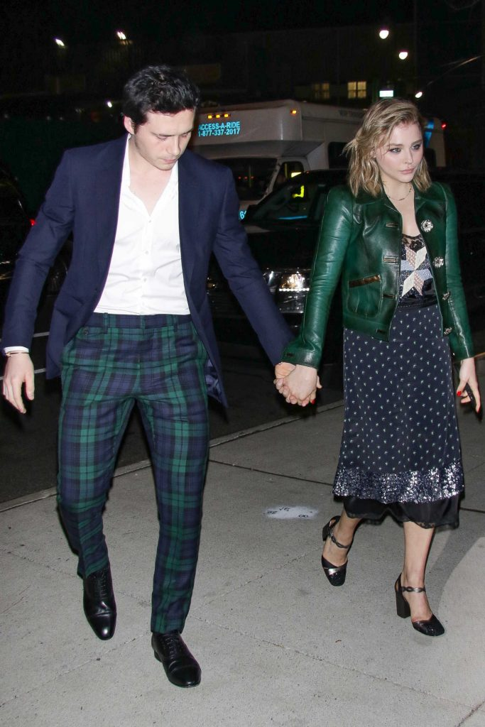 Chloe Moretz Was Seen With Brooklyn Beckham Out in NYC-4