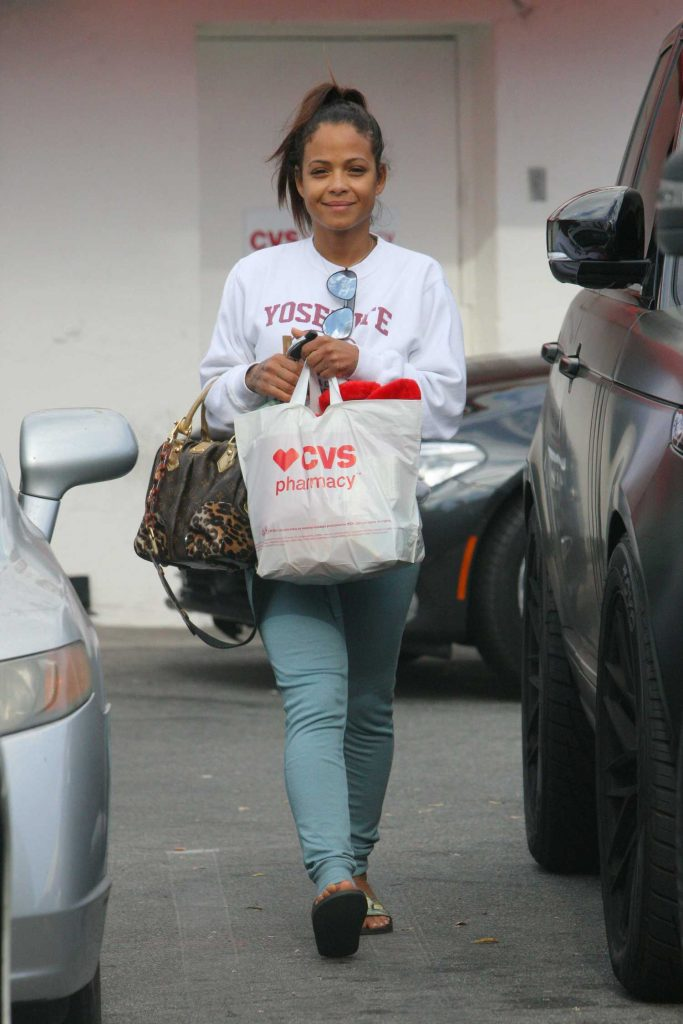 Christina Milian Goes to CVS Store in Los Angeles-1