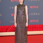 Claire Foy at The Crown Season 2 Premiere in London