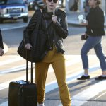 Daisy Ridley Was Seen at JFK International Airport in New York City