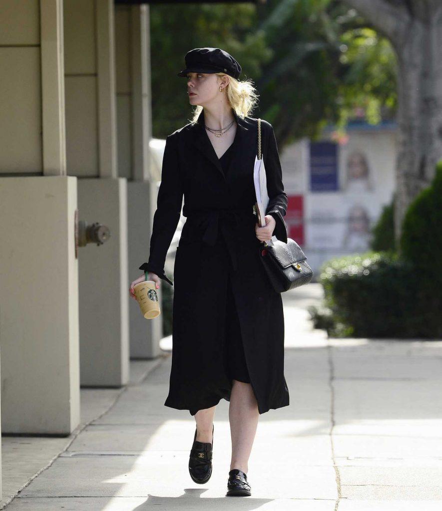 Elle Fanning Was Seen on Roberston Blvd in LA-2